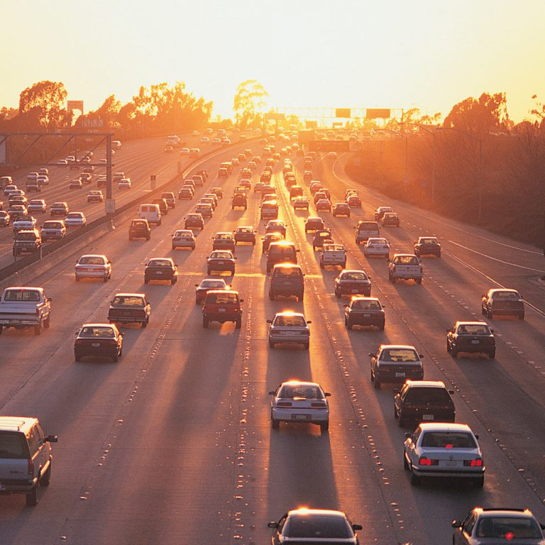 Photo of a San Diego freeway