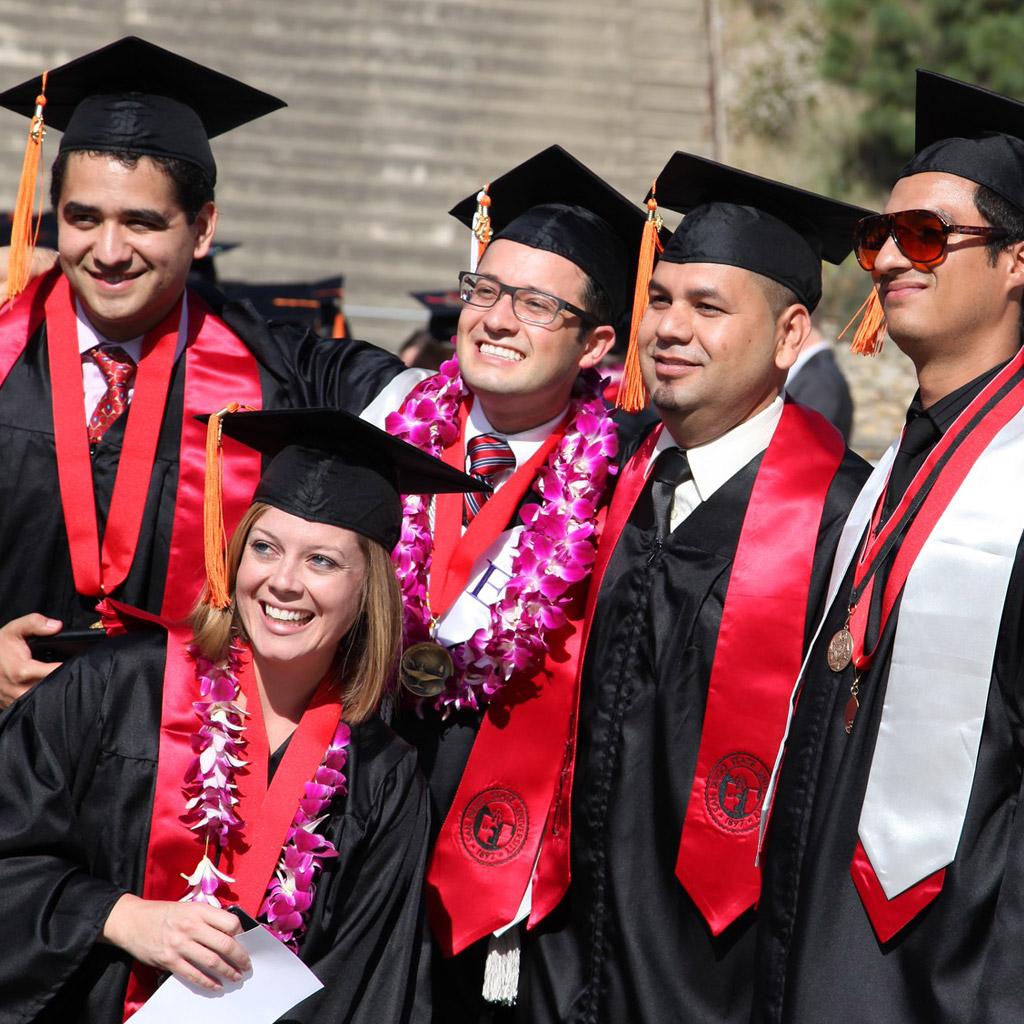 Photo of a graduation in San Diego
